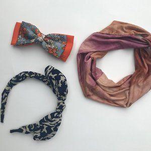 Summer Hair Accessories - Bow, Clips, Headbands